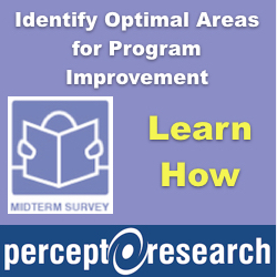 Percept Research Midterm Research Logo